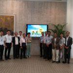 CREEW delegates attend the 20th Anniversary Ceremony of KWEF