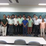 Water environment research shared with researchers at ICRE, UY