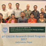 With rigorous discussion, The 8th CREEW Research Grant Program ends