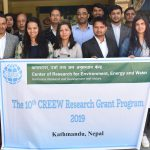 Selected grantees of the 10th CREEW Research Grant program present their proposal
