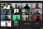 Virtual meeting held for research grantees to share their final research output