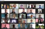 Selected nine grantees made a virtual research proposal presentation
